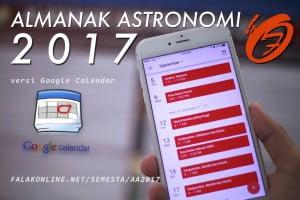 AA2017 Google calendar